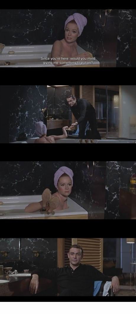 James Bond Sure Does Have a Way With the Ladies