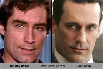 Timothy Dalton Totally Looks Like Jon Hamm