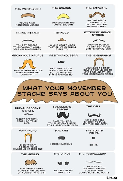 What Your Stache Says About You