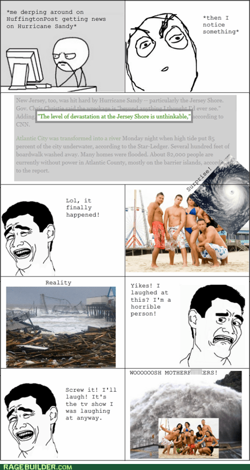 Sandy Wasn't Pleased With Their Cancelation