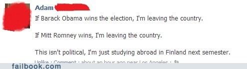 Mitt Romney,Finland,barack obama,study abroad,failbook,g rated