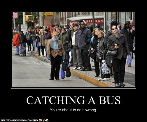 Catching a Bus