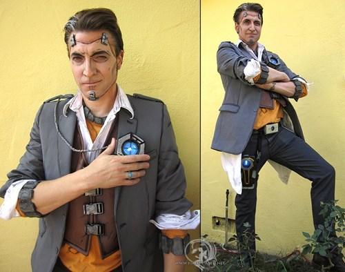 handsome jack,cosplay,borderlands 2,video games