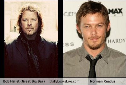 Bob Hallet (Great Big Sea) Totally Looks Like Norman Reedus