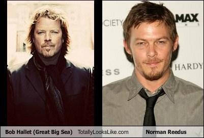 bob hallet,actor,TLL,norman reedus,funny,The Walking Dead