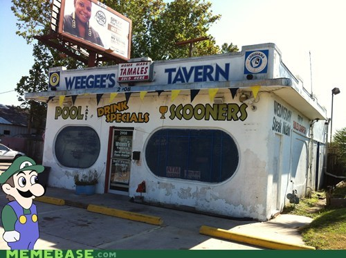 Found Weegee's Hang-Out.