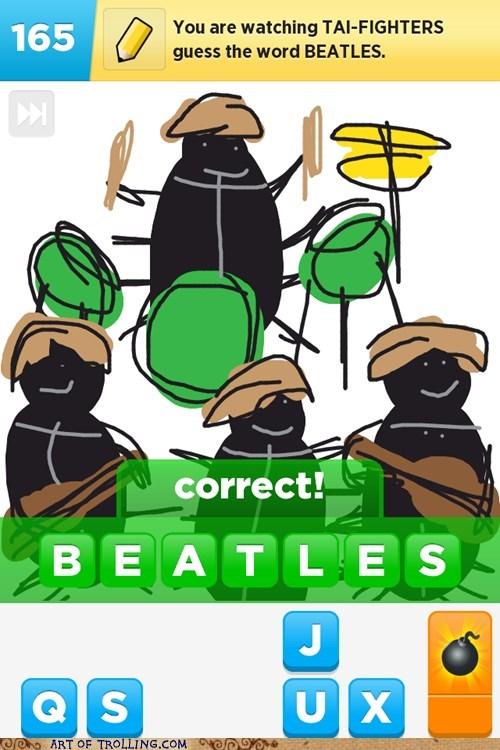 beatles,draw something,Beetles
