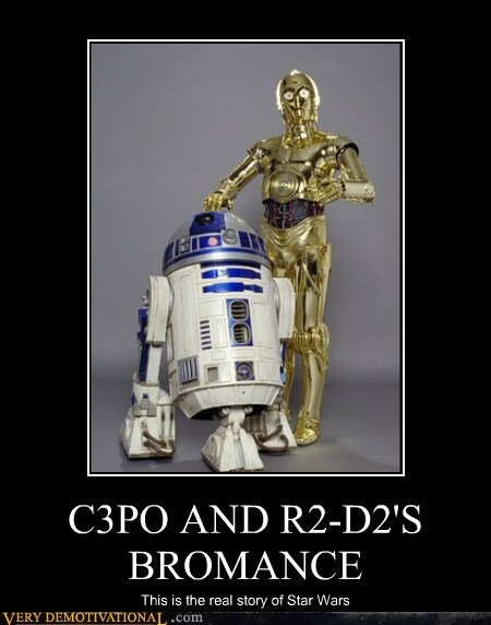 C3PO AND R2-D2'S BROMANCE