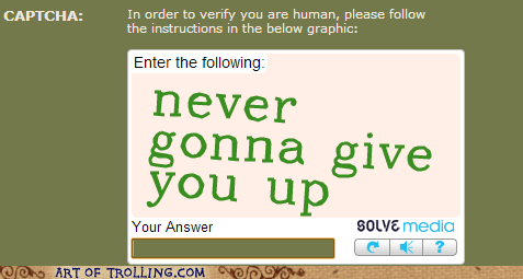 Never Gonna Verify Your Humanity