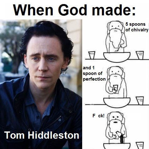 When God Made Tom Hiddleston