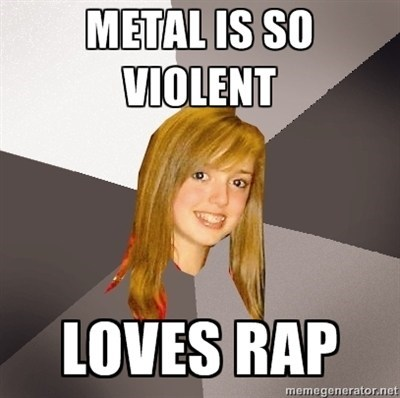 metal,rap,violent
