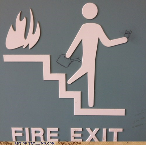 Some Men Just Want to Watch the Stairs Burn