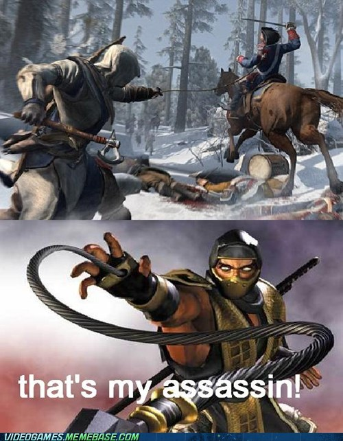 Like Ninja, Like Assassin