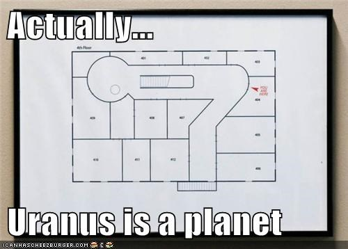 Actually...  Uranus is a planet