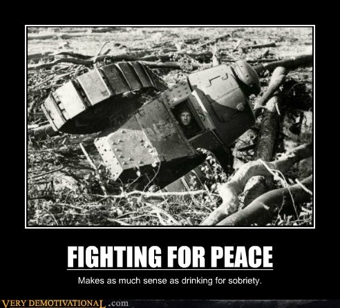 FIGHTING FOR PEACE