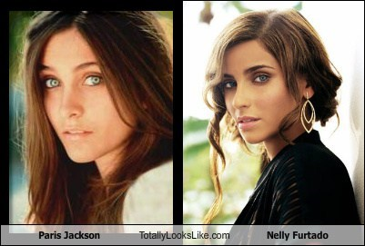 Paris Jackson Totally Looks Like Nelly Furtado