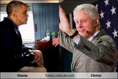 Obama Totally Looks Like Clinton