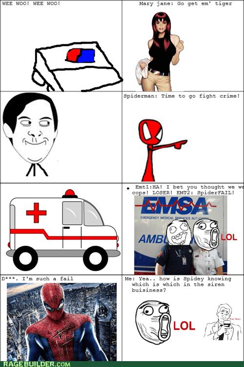 Spider FAIL
