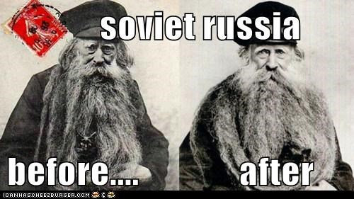 soviet russia  before....              after
