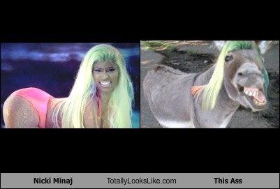 Nicki Minaj Totally Looks Like This Ass