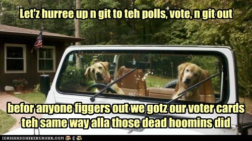 Voter registration fraud has gone interspecies