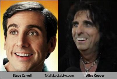 Steve Carrell Totally Looks Like Alice Cooper