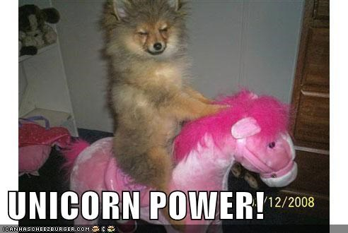 UNICORN POWER!