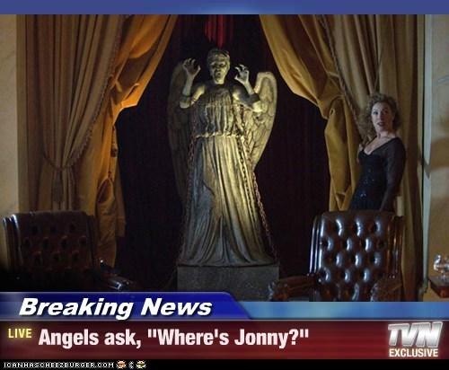 """Breaking News - Angels ask, """"Where's Jonny?"""""""
