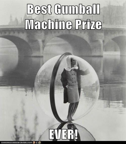 river,fashion,woman,bubble,gumball