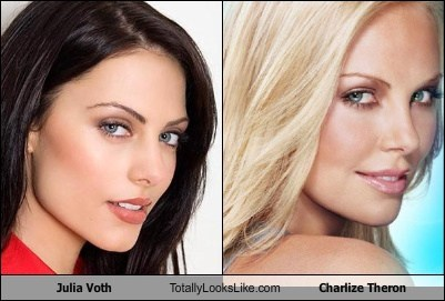 Julia Voth Totally Looks Like Charlize Theron