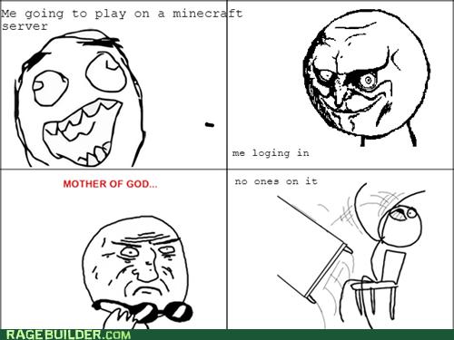 Minecraft server fail