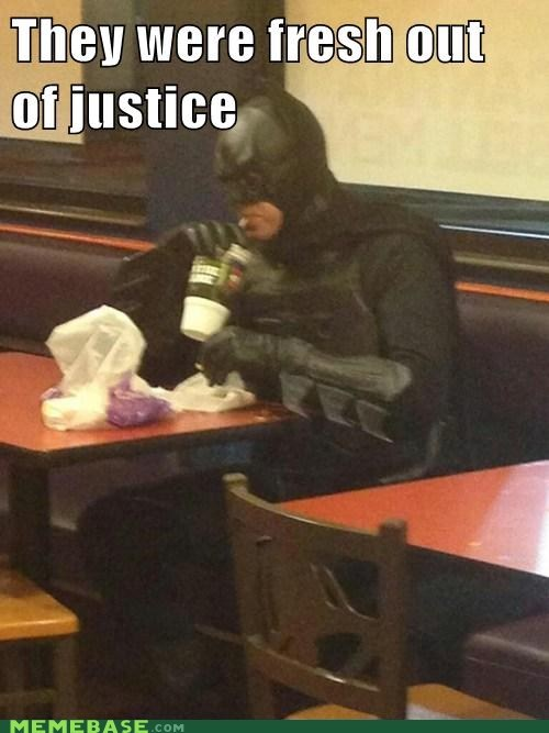 He wanted to order justice...