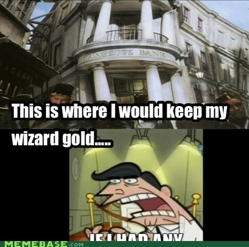 And if I was a wizzard....