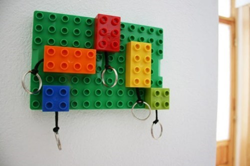 Get Those Legos Off the Floor and Onto the Wall