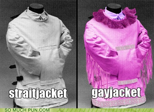 literalism,gay,Before And After,opposites,straight,double meaning,straitjacket