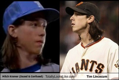 Wiley Wiggins (Mitch Kramer in Dazed & Confused) Totally Looks Like Tim Lincecum