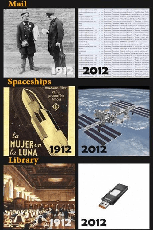 spaceships,technology,library,changing world,mail
