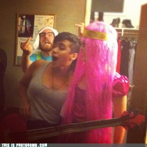 middle finger,costume,adventure time