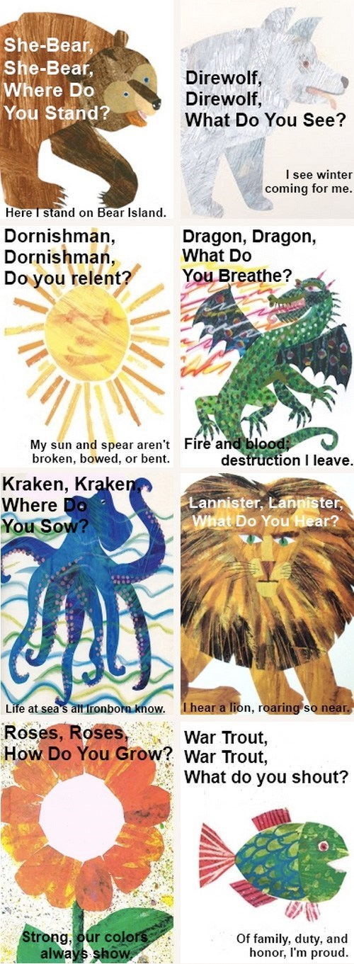 A Children's Book from Westeros