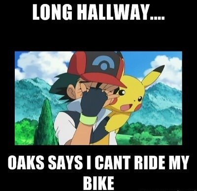bicycle,not the time to use that,pokemon world problems