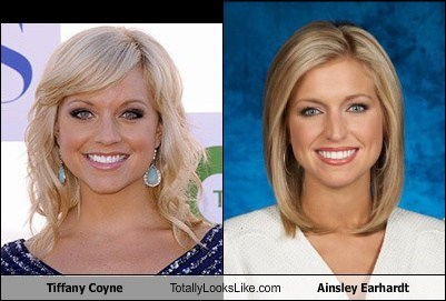 Tiffany Coyne Totally Looks Like Ainsley Earhardt