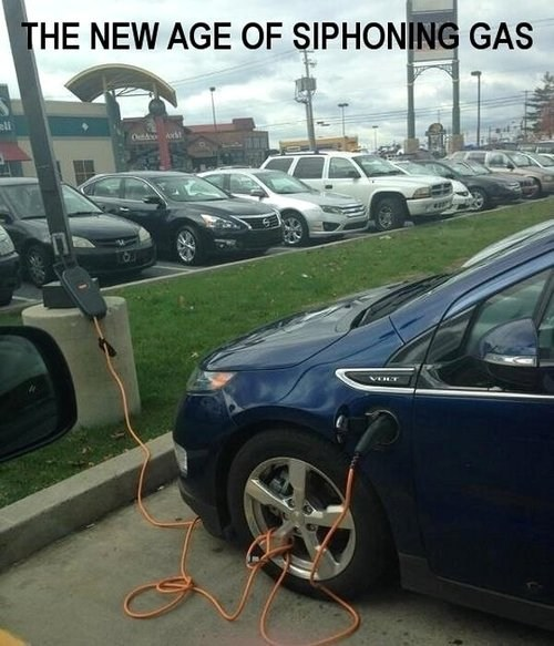 Ugh, I Spilled Electricity Everywhere!