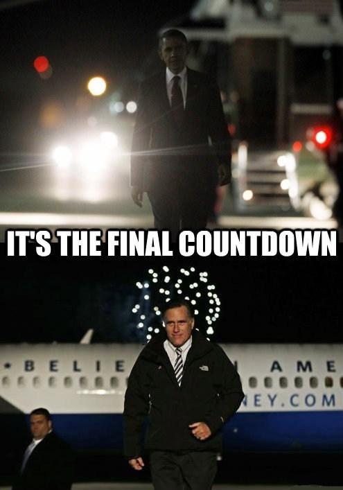 last day,song,Mitt Romney,barack obama,election,arrested development,final countdown