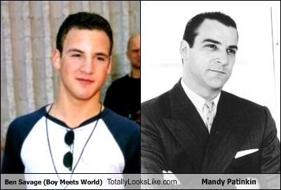 Ben Savage (Boy Meets World) Totally Looks Like Mandy Patinkin