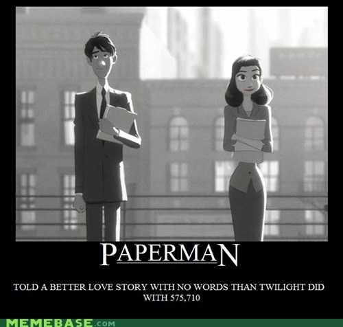 excellent,paperman,love story,twilight