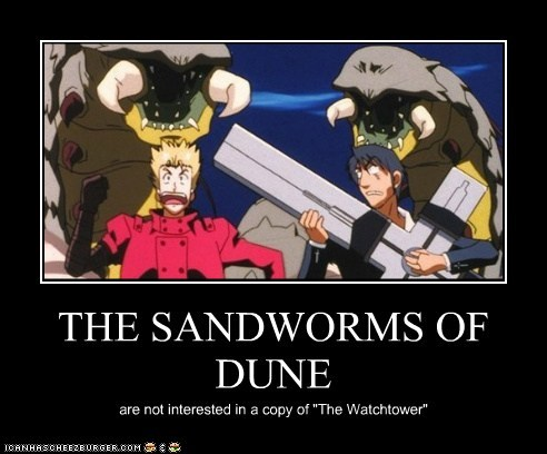 THE SANDWORMS OF DUNE