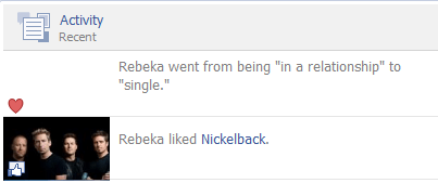 bad taste,single,correlation,nickelback,in a relationship