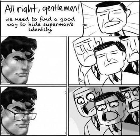 Lois Lane Is Just Blind