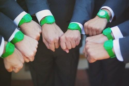 green,Groomsmen,accessories,watches,matching