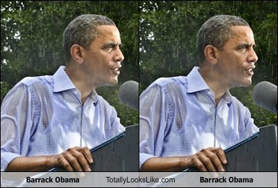 Barrack Obama Totally Looks Like Barrack Obama